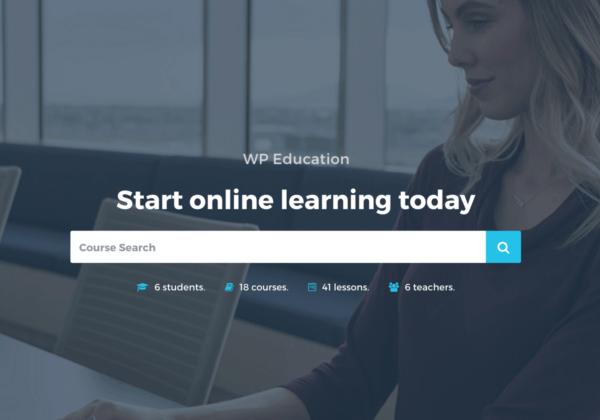 WP-Education | Free WordPress LMS Theme